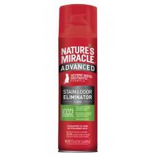 8in1 Natures Miracle Уничтожитель пятен и запахов от кошек усиленная формула, аэрозоль-пена 518 мл