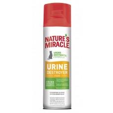 8in1 Natures Miracle Уничтожитель пятен и запахов от мочи кошек, аэрозоль-пена 518 мл