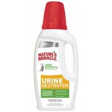 8in1 Natures Miracle Уничтожитель пятен и запахов от мочи кошек 946 мл