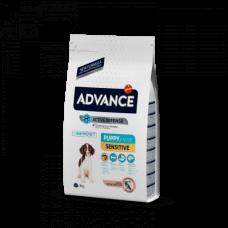 Advance Sensitive Puppy для щенков с чувствительным пищеварением, с лососем и рисом