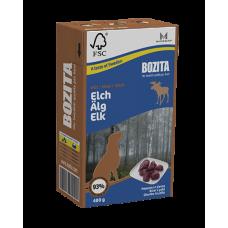 BOZITA Tetra Pac Naturals консерва для собак с мясом лося в желе 370гр