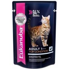 Eukanuba паучи корм для кошек c кроликом в соусе 85 г