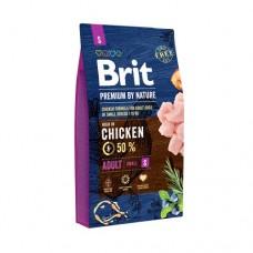 BRIT Premium Adult S корм для взрослых собак маленьких пород (1–10 кг)