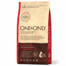 One & Only гиппоаллергенный сухой корм для собак с Ягненком