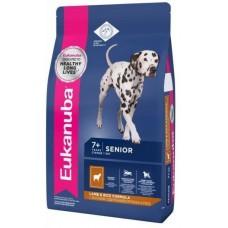 Eukanuba Senior All Breeds Корм для пожилых собак с ягненком