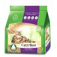 Cats Best Smart Pellets Наполнитель комкующийся древесный без запаха