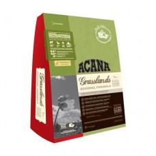 ACANA GRASSLANDS Беззерновой корм для кошек и котят со вкусом ягненка и утки