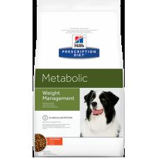 Hills Prescription Diet Metabolic диетический корм для собак для коррекции веса