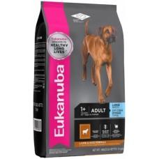 Eukanuba корм для взрослых собак крупных пород ягненок 12 кг.