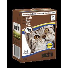 Bozita Feline консервы для кошек Кусочки оленя в желе 190  гр