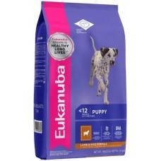 Eukanuba корм для щенков всех пород ягненок