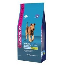 Eukanuba корм для пожилых собак крупных пород