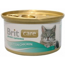 Brit Care для котят с куриной грудкой 80 гр