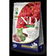 Farmina N&D Quinoa корм для чувствительного пищеварения у собак Ягненок
