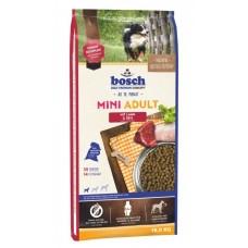Bosch Mini Adult Lamb & Rice корм для взрослых собак мелких пород с ягненком