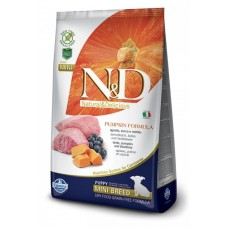 Farmina N&D Pumpkin Puppy Mini беззерновой корм для щенков ягненок, тыква