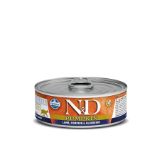 Farmina N&D беззерновой влажный корм кошек Ягненок, тыква и черника 80 гр