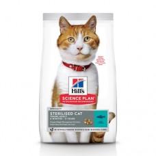 Hills  Adult Sterilised Cat Корм для стерилизованных кошек с тунцом