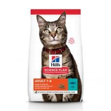 Hills Adult Optimal Care Корм для взрослых кошек с тунцом
