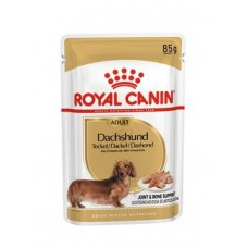 Royal Canin Dachshund влажный корм для собак породы такса паштет 12*85 гр