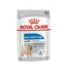 Royal Canin Light Weight Care Adult влажный корм для собак при избыточном весе паштет 12*85 гр