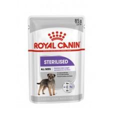 Royal Canin Sterilised Canin Adult влажный корм для стерилизованных собак паштет 12*85 гр