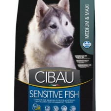 Cibau Sensitive Medium сухой корм для собак с рыбой в Новосибирске