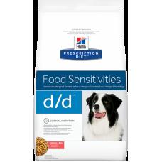 HILLS Prescription Diet d d Duck диетический корм для собак при аллергии/панкреатите с уткой