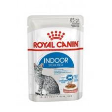 Royal Canin Indoor Sterilised влажный корм для кошек (в соусе)