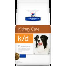 HILLS Prescription Diet k d диетический корм для собак при заболевании почек