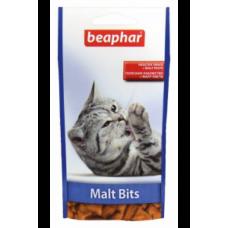 Beaphar Подушечки Malt Bits для выведения шерсти из желудка 150 гр