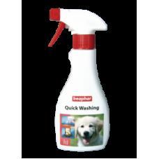Beaphar Quick Washing Экспресс-шампунь для быстрого очищения кожи и шерсти 250 мл