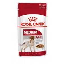 Royal Canin Medium Adult влажный корм для собак соус 10*140 гр