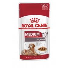 Royal Canin Medium Ageing 10+ влажный корм для собак 10+ соус 10*140 гр