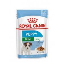 Royal Canin Mini Puppy влажный корм для мелких щенков соус 12*85 гр