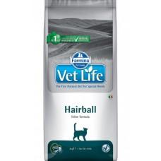 Farmina Vet Life Hairball корм для кошек для выведению шерсти из кишечника