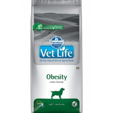 Farmina Vet Life Obesity корм для собак при ожирении